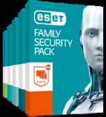 ESET Family Security Pack - krabice (trial verze)