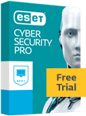 Eset Cyber Security Pro Free Trial box