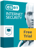 ESET Internet Security box - Prova Gratuita