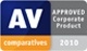 AV-Comparatives - Approved Corporate Product 2010 icon