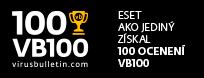 ESET ako jediný získal 100 ocenení VB100