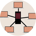 Image of botnet protection diagram