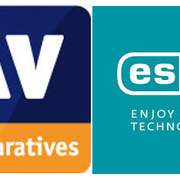 AV comparatives and ESET logo